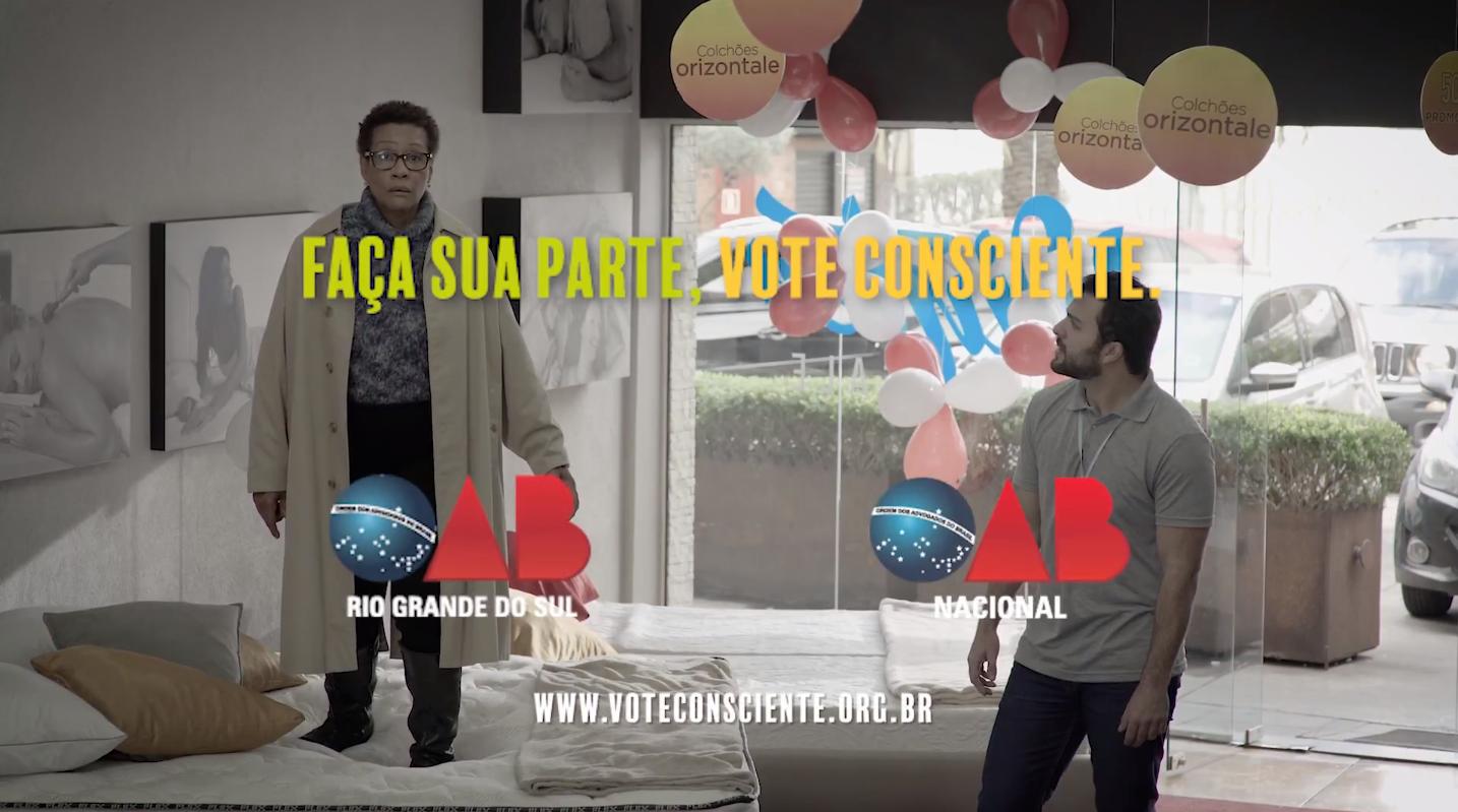 """""""VOTE CONSCIENTE"""", uma campanha da OAB/RS em parceria com a ESPM-Sul"""